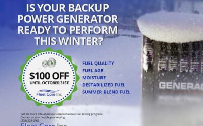 Is your backup power generator ready to perform this winter?